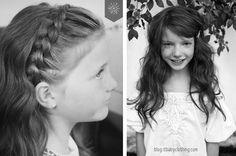 Cabelo de menina #littlegirl #bebe #itgirl #cabelo #hairstyle #penteado