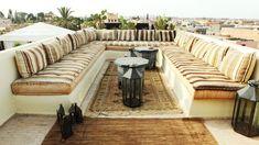 Dalla terrazza del Riad Dar Mo'da si domina tutta la città. Meraviglioso!