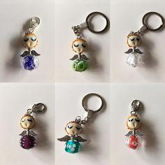 Ze zijn er weer leuk om te geven. #engel #glassbeads #beads #handmade #kerst