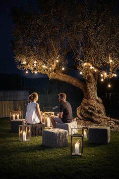 Backyard Projects, Backyard Patio, Backyard Landscaping, Landscaping Ideas, Backyard Ideas, Backyard Furniture, Backyard Retreat, Furniture Ideas, Outdoor Graduation Parties