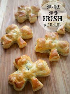 St. Patrick's Day Recipe: Shamrock Style Irish Sausage Rolls