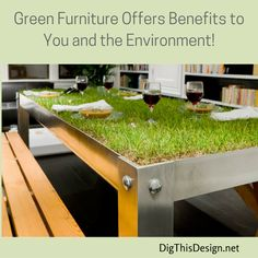 The benefits to going green in design are great. As an interior designer I like to give my clients the option to go green whenever possible.