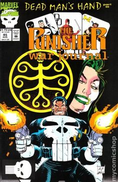 Punisher War Journal (1988 1st Series) 45  Marvel Comics Modern Age Comic book covers