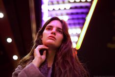 night portraits with Delfina on Behance