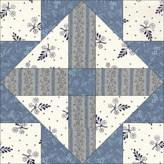 June 26 Cross in Cross. Today's block is another from the Ladies Art Company (#313, 1897), although it was republished again by Carrie Hall and Rose Kretsinger in The Romance of the Patchwork Quilt in America, without alteration in 1935.