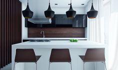 Gorgeous kitchen design with soft color...   Visit : roohome.com    #kitchen #decoration #amazing #awesome #gorgeous #great #fabulous #unique #simple #creative