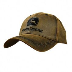ca7fe03ee Oilskin Patch Cap with embroidered John Deere logo patch #ThingstoWear  Rodeo Outfits, Country Outfits