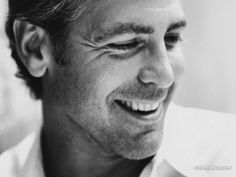 George Clooney. He will never stop being handsome