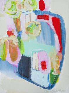 """Weekend Getaway"" by Claire Desjardins. 24""x30"" - Acrylics on canvas. #art"