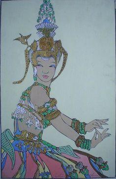 Dancer Of Angkor