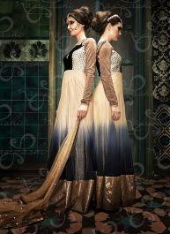 Buy Vikram Phadnis Designer Ramp Walk Ombre Anarkali Suit