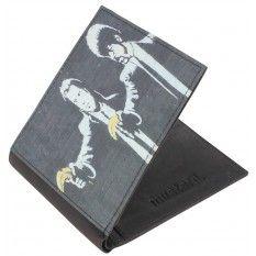 Mustard Pulp Wallet - Black
