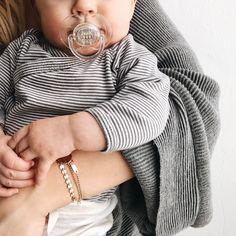Maddie Broderick in a Made by Mary Poppy bracelet.