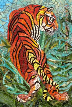 "Saatchi Art Artist Anne Bedel; Installation, ""Indian tiger"" #art"