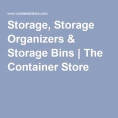 Storage, Storage Organizers & Storage Bins | The Container Store