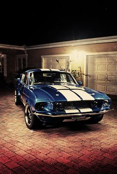67 GT500 Mustang... the car I really want, my ultimate dream car