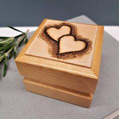 Personalised Ring Box Custom Gift Idea Birthday Wedding Engagement Proposal Fiance Girlfriend
