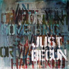 "Saatchi Online Artist Niki Hare; Painting, ""was it"" #art"