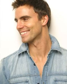 Gentleman of the Week: Colin Egglesfield the 40 year old actor/producer from Farmington Hills, Michigan. This fine man defiantl. Colin Egglesfield, Cute Celebrities, Celebs, Pretty People, Beautiful People, Michigan, Fine Men, Attractive Men, Good Looking Men