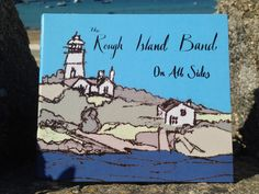 Album cover for The Rough Island Band. Artwork by Amy Windridge. (mono print, photoshop)