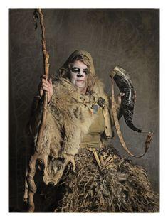 Volva. Vikings by Jim Lyngvild  Modern day viking inspiration. Costumes are all hand made and original.  Facebook profile: https://www.facebook.com/jim.lyngvild