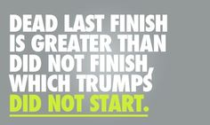 so keep going!