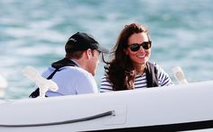 Kate Middleton and Prince William face off in yacht race