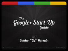 Google + Start-up Guide from kimgarst.com