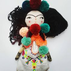 SOLD! Thank you so much ❤❤❤❤ ✨❤ big #love ❤❤❤ #supportsmallbusinesses #frida #instadoll #dollsofinstagram #fridakahlodoll #ooak #dolls #clothdollartist #textileoftheday #embroiderydoll #artoftheday #handmadedoll #dollscollector #ilovehandmade #clothdolls #doll #artdolls #etsy #thedollsunique #simplicityfound #makers #makebelieve #folkygirls #noblackfriday