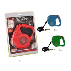 "Hug My Pet 17' Retractable Dog Leash with LED Lights (Retail Price $29.00) ""Our Price $9.00"" only at nomorerack.com"