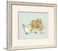 Home Interiors Rose Floral Lasting Products Inc Hand Painted Usa