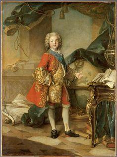 Le Dauphin Louis de France, fils de Louis XV