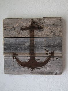 Weathered Wood Anchor //project inspiration