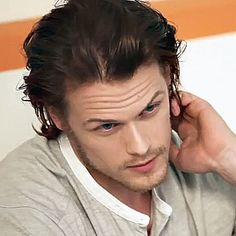 Sam Heughan Daily — Sam Heughan in TCA 2014 photo shoot with TV Guide...
