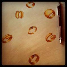 Anéis diversos em ouro 18k!