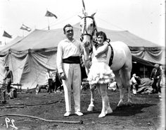 Sells-Floto Circus two performers, possibly equestriennes posing with a horse. Historic photos, lithographs, posters, images and ephemera prints of the circus from the collections at Circus World Museum in Baraboo, Wisconsin. Images will be processed with archival grade papers and inks to provide you with lasting high quality images. Actual image will be printed in …