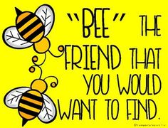 Bee Themed Classroom Posters with Quotes by The Hands On Teacher in First