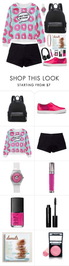 """""""Untitled #1062"""" by celida-loves-pink ❤ liked on Polyvore featuring Lamoda, Folk, WithChic, Prada Sport, Beats by Dr. Dre, Urban Decay, NARS Cosmetics, Bobbi Brown Cosmetics, Cost Plus World Market and NYX"""