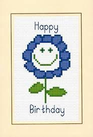 happy birthday cross stitch - بحث Google