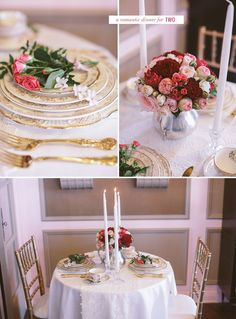 DIY: Romantic Centerpiece with Roses | Green Wedding Shoes Wedding Blog | Wedding Trends for Stylish +  Creative Brides