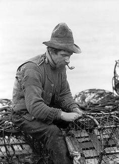 Fisherman, Whitby, England..