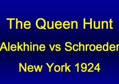 Alekhine vs Schroeder - New York 1924