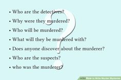 Image titled Write Murder Mysteries Step 3