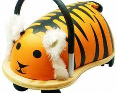 Wheelybug TIGRE (tamaños pequeño y grande). Lo puedes encontrar en http://sapaburu.com/tienda/?s=wheelybug&post_type=product