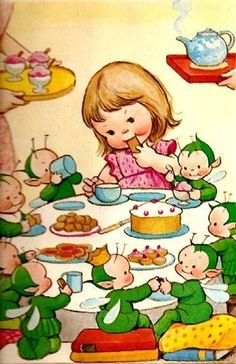 Group of: Art and Illustration / mabel lucie attwell Vintage Children's Books, Vintage Cards, Vintage Postcards, Vintage Pictures, Vintage Images, Illustration Mode, Baby Kind, Retro, Faeries