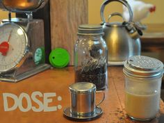 stainless, filterless, coffee and tea for mason jars by kirby — kickstarter
