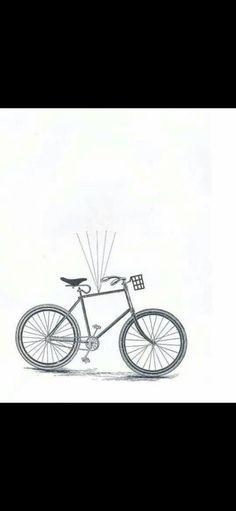 Techno, Bike, Art Prints, Vintage, Dibujo, Bicycle, Art Impressions, Fine Art Prints, Vintage Comics
