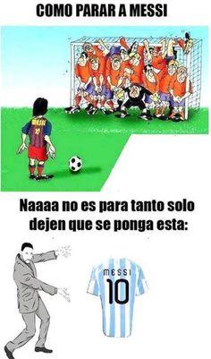 Messi en el Mundial Brasil 2014 Meme