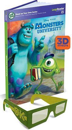 LeapReader™ 3D Book: Disney·Pixar Monsters University {Review} (& Giveaway Ends 7/5)