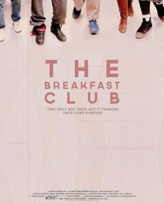 """The Breakfast Club finally saw it, had no idea that i would like it so much"" EXACTLY"
